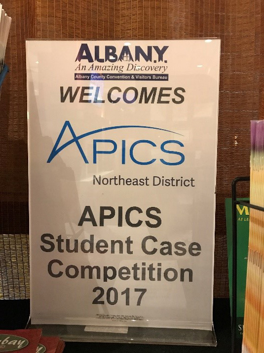 2017 Student Case Competition APICS