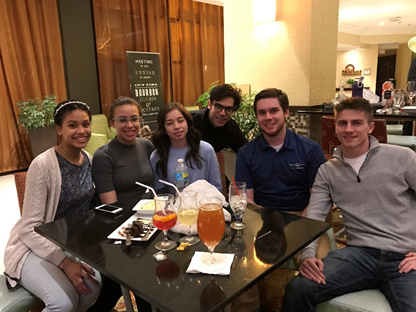 Students affiliated with APICS Providence Chapter