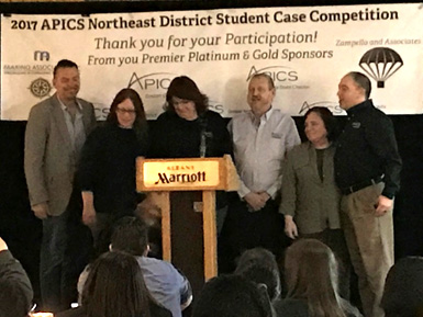 APICS Northeast District Student Case Competition 2017